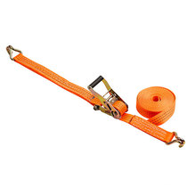 Orange Ratchet tie down Polyester Cargo Lashing